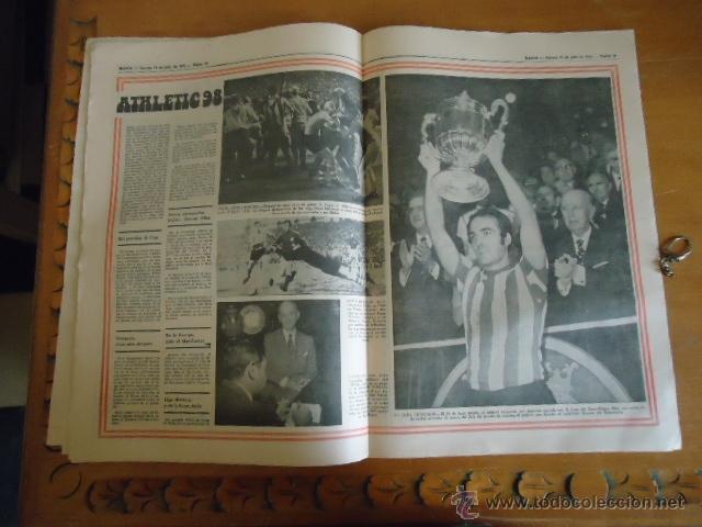 Coleccionismo deportivo: antiguo diario marca - futbol y deportes - boxeo toros tenis - real madrid fc barcelona etc 1978 - Foto 10 - 40220429