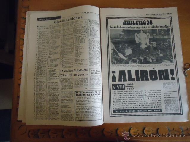 Coleccionismo deportivo: antiguo diario marca - futbol y deportes - boxeo toros tenis - real madrid fc barcelona etc 1978 - Foto 11 - 40220429