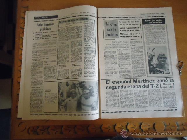 Coleccionismo deportivo: antiguo diario marca - futbol y deportes - boxeo toros tenis - real madrid fc barcelona etc 1978 - Foto 12 - 40220429