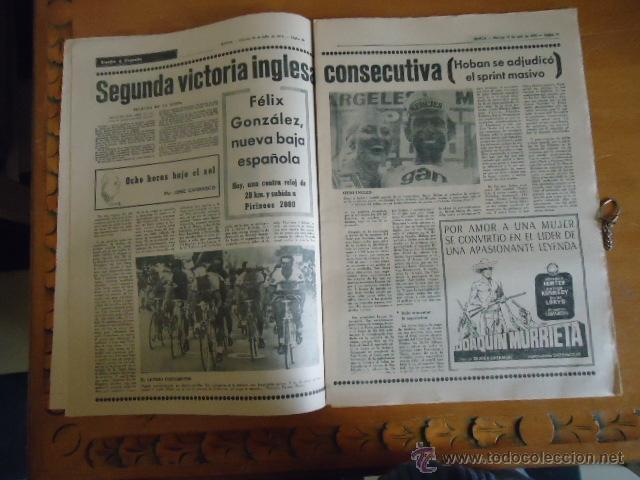 Coleccionismo deportivo: antiguo diario marca - futbol y deportes - boxeo toros tenis - real madrid fc barcelona etc 1978 - Foto 13 - 40220429