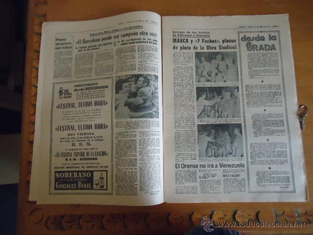 Coleccionismo deportivo: antiguo diario marca - futbol y deportes - boxeo toros tenis - real madrid fc barcelona etc 1978 - Foto 14 - 40220429