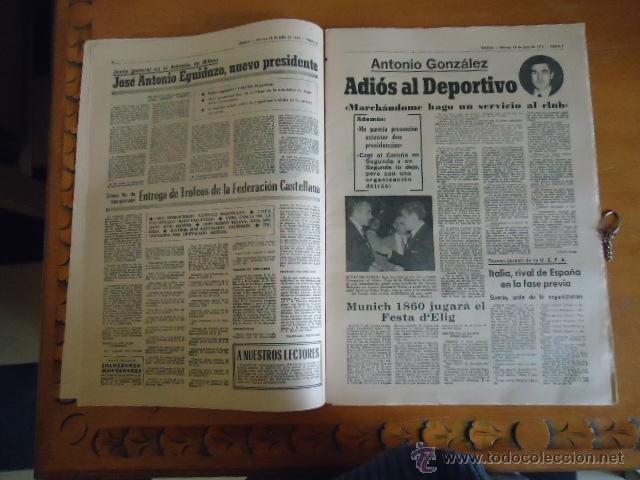 Coleccionismo deportivo: antiguo diario marca - futbol y deportes - boxeo toros tenis - real madrid fc barcelona etc 1978 - Foto 15 - 40220429
