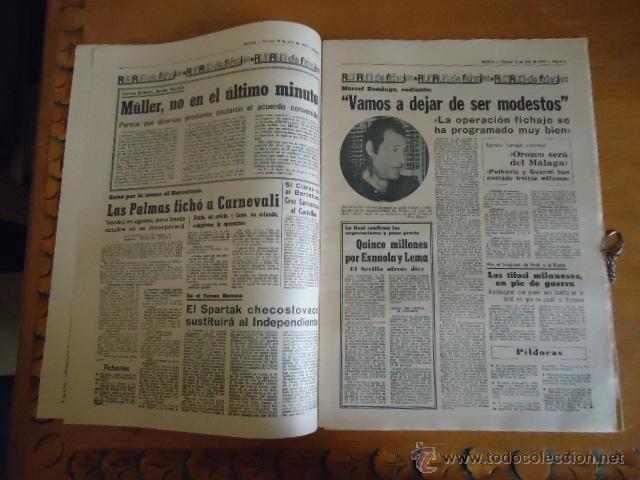 Coleccionismo deportivo: antiguo diario marca - futbol y deportes - boxeo toros tenis - real madrid fc barcelona etc 1978 - Foto 16 - 40220429