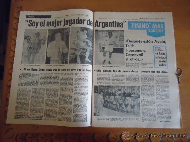 Coleccionismo deportivo: antiguo diario marca - futbol y deportes - boxeo toros tenis - real madrid fc barcelona etc 1978 - Foto 17 - 40220429