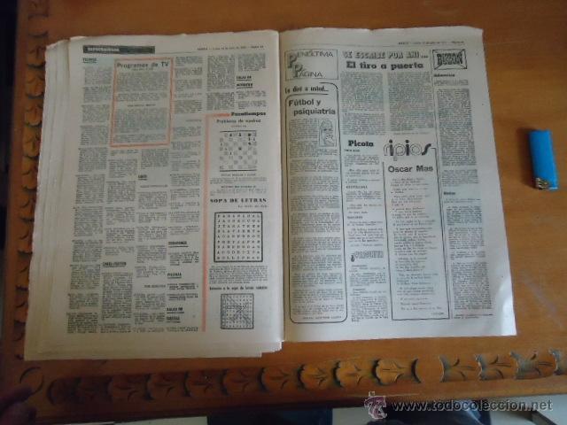 Coleccionismo deportivo: antiguo diario marca - futbol y deportes - boxeo toros tenis - real madrid fc barcelona etc 1973 - Foto 3 - 40220567