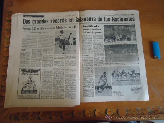 Coleccionismo deportivo: antiguo diario marca - futbol y deportes - boxeo toros tenis - real madrid fc barcelona etc 1973 - Foto 5 - 40220567