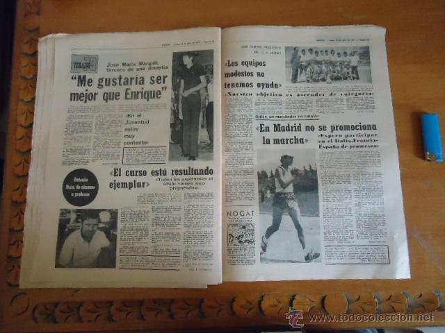 Coleccionismo deportivo: antiguo diario marca - futbol y deportes - boxeo toros tenis - real madrid fc barcelona etc 1973 - Foto 6 - 40220567