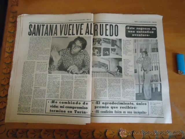 Coleccionismo deportivo: antiguo diario marca - futbol y deportes - boxeo toros tenis - real madrid fc barcelona etc 1973 - Foto 8 - 40220567