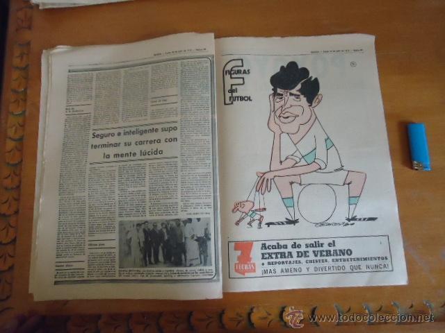 Coleccionismo deportivo: antiguo diario marca - futbol y deportes - boxeo toros tenis - real madrid fc barcelona etc 1973 - Foto 10 - 40220567