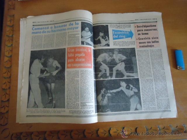 Coleccionismo deportivo: antiguo diario marca - futbol y deportes - boxeo toros tenis - real madrid fc barcelona etc 1973 - Foto 11 - 40220567