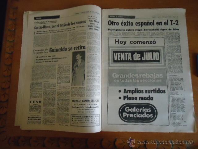 Coleccionismo deportivo: antiguo diario marca - futbol y deportes - boxeo toros tenis - real madrid fc barcelona etc 1973 - Foto 15 - 40220567