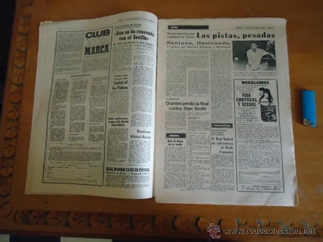 Coleccionismo deportivo: antiguo diario marca - futbol y deportes - boxeo toros tenis - real madrid fc barcelona etc 1973 - Foto 17 - 40220567