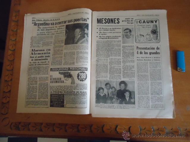 Coleccionismo deportivo: antiguo diario marca - futbol y deportes - boxeo toros tenis - real madrid fc barcelona etc 1973 - Foto 18 - 40220567