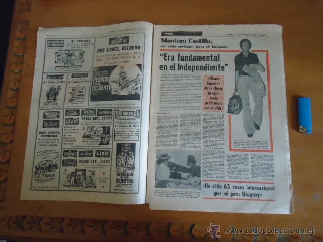 Coleccionismo deportivo: antiguo diario marca - futbol y deportes - boxeo toros tenis - real madrid fc barcelona etc 1973 - Foto 19 - 40220567