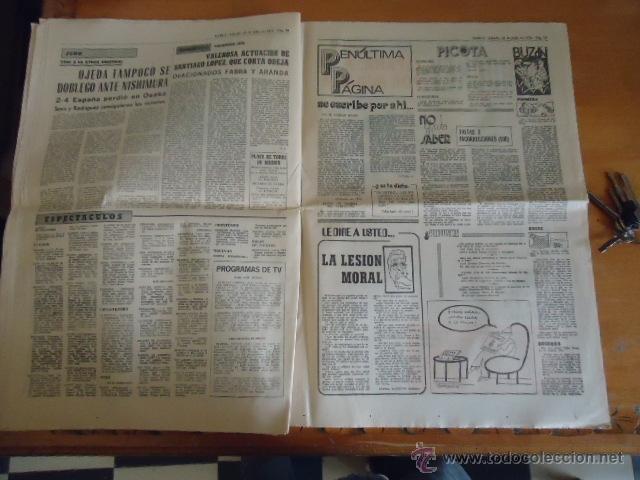 Coleccionismo deportivo: antiguo diario marca - futbol y deportes - boxeo toros tenis - real madrid fc barcelona etc 1958 - Foto 3 - 40222289
