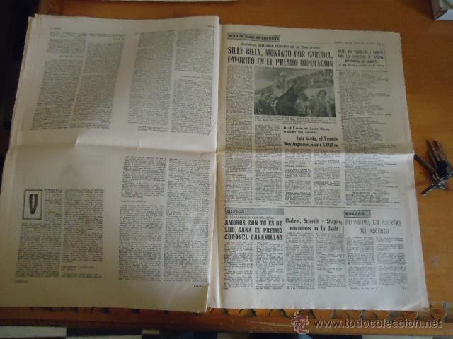 Coleccionismo deportivo: antiguo diario marca - futbol y deportes - boxeo toros tenis - real madrid fc barcelona etc 1958 - Foto 4 - 40222289