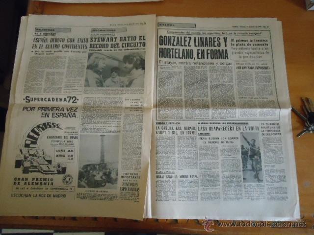 Coleccionismo deportivo: antiguo diario marca - futbol y deportes - boxeo toros tenis - real madrid fc barcelona etc 1958 - Foto 6 - 40222289