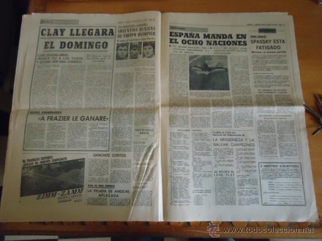Coleccionismo deportivo: antiguo diario marca - futbol y deportes - boxeo toros tenis - real madrid fc barcelona etc 1958 - Foto 7 - 40222289