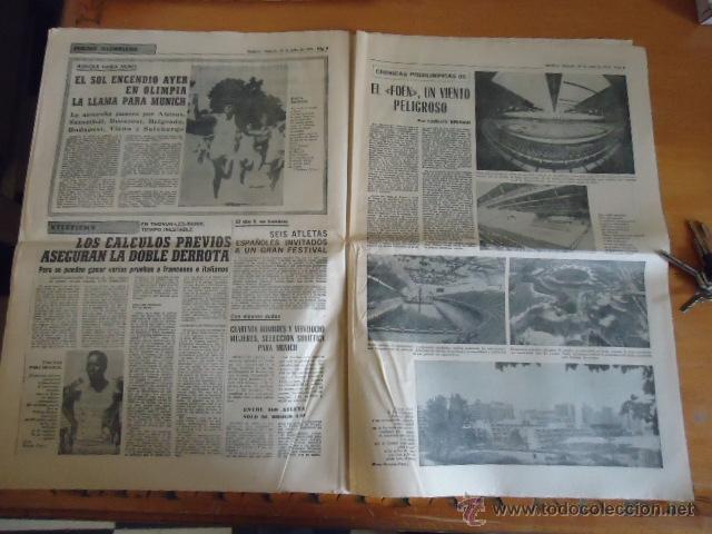 Coleccionismo deportivo: antiguo diario marca - futbol y deportes - boxeo toros tenis - real madrid fc barcelona etc 1958 - Foto 8 - 40222289