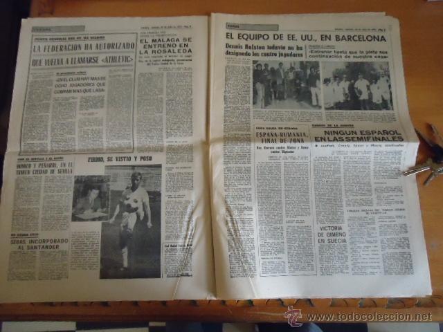 Coleccionismo deportivo: antiguo diario marca - futbol y deportes - boxeo toros tenis - real madrid fc barcelona etc 1958 - Foto 9 - 40222289