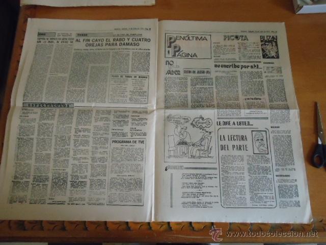 Coleccionismo deportivo: antiguo diario marca - futbol y deportes - boxeo toros tenis - real madrid fc barcelona etc 1958 - Foto 3 - 40222304