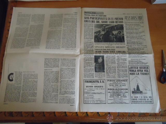 Coleccionismo deportivo: antiguo diario marca - futbol y deportes - boxeo toros tenis - real madrid fc barcelona etc 1958 - Foto 4 - 40222304