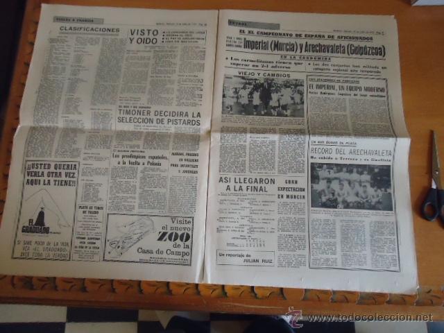 Coleccionismo deportivo: antiguo diario marca - futbol y deportes - boxeo toros tenis - real madrid fc barcelona etc 1958 - Foto 7 - 40222304