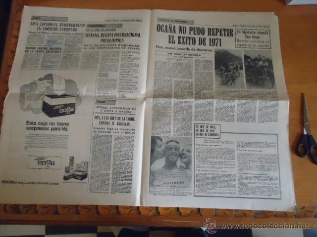 Coleccionismo deportivo: antiguo diario marca - futbol y deportes - boxeo toros tenis - real madrid fc barcelona etc 1958 - Foto 8 - 40222304