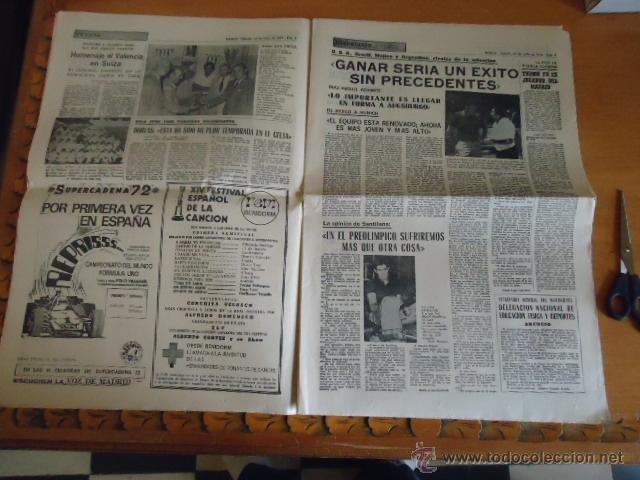 Coleccionismo deportivo: antiguo diario marca - futbol y deportes - boxeo toros tenis - real madrid fc barcelona etc 1958 - Foto 9 - 40222304