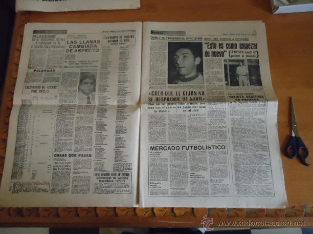 Coleccionismo deportivo: antiguo diario marca - futbol y deportes - boxeo toros tenis - real madrid fc barcelona etc 1958 - Foto 10 - 40222304