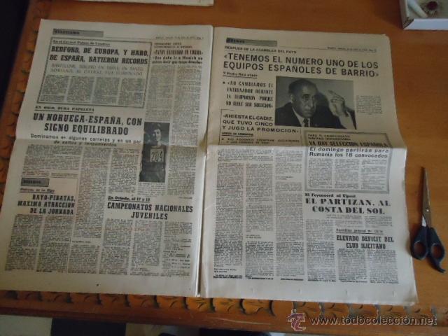 Coleccionismo deportivo: antiguo diario marca - futbol y deportes - boxeo toros tenis - real madrid fc barcelona etc 1958 - Foto 11 - 40222304