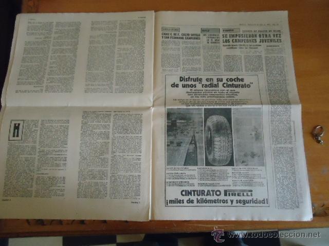 Coleccionismo deportivo: antiguo diario marca - futbol y deportes - boxeo toros tenis - real madrid fc barcelona etc 1958 - Foto 4 - 40222328