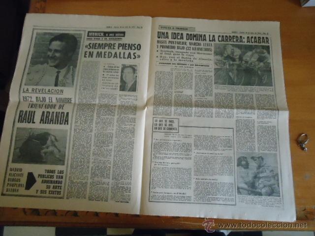 Coleccionismo deportivo: antiguo diario marca - futbol y deportes - boxeo toros tenis - real madrid fc barcelona etc 1958 - Foto 7 - 40222328