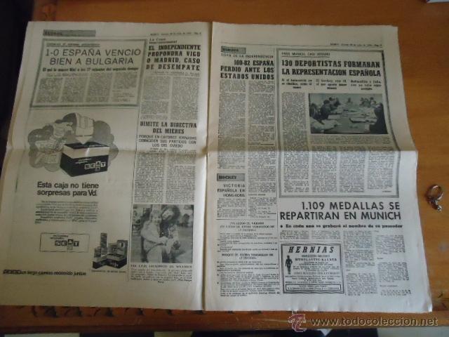 Coleccionismo deportivo: antiguo diario marca - futbol y deportes - boxeo toros tenis - real madrid fc barcelona etc 1958 - Foto 9 - 40222328