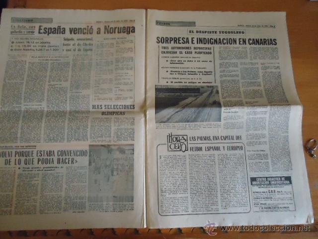 Coleccionismo deportivo: antiguo diario marca - futbol y deportes - boxeo toros tenis - real madrid fc barcelona etc 1958 - Foto 11 - 40222328