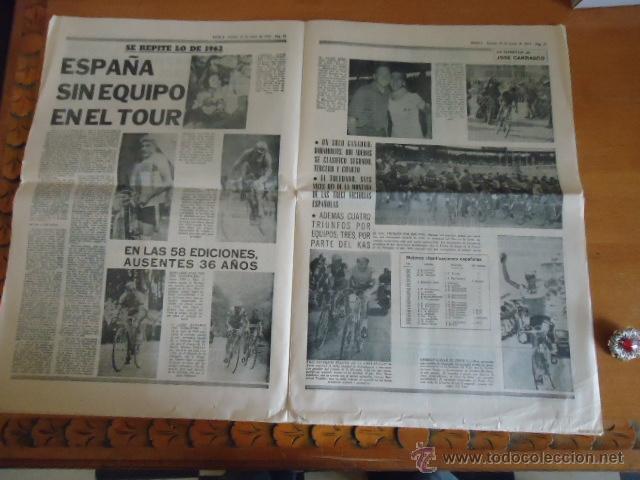 Coleccionismo deportivo: antiguo diario marca - futbol y deportes - boxeo toros tenis - real madrid fc barcelona etc 1958 - Foto 7 - 40222387