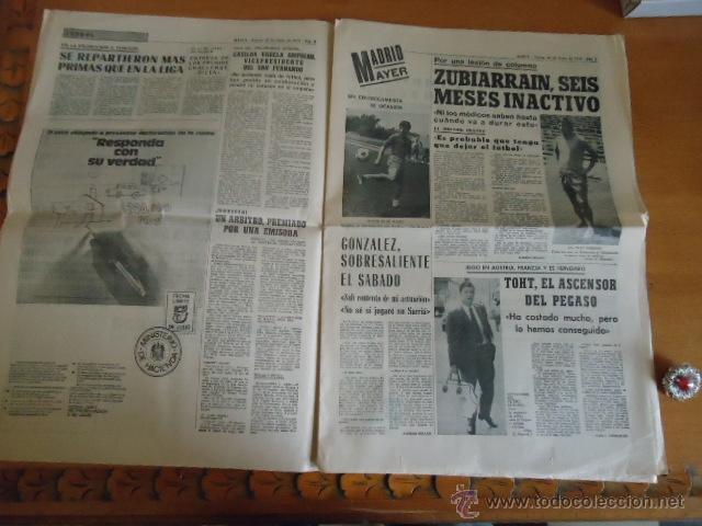 Coleccionismo deportivo: antiguo diario marca - futbol y deportes - boxeo toros tenis - real madrid fc barcelona etc 1958 - Foto 9 - 40222387