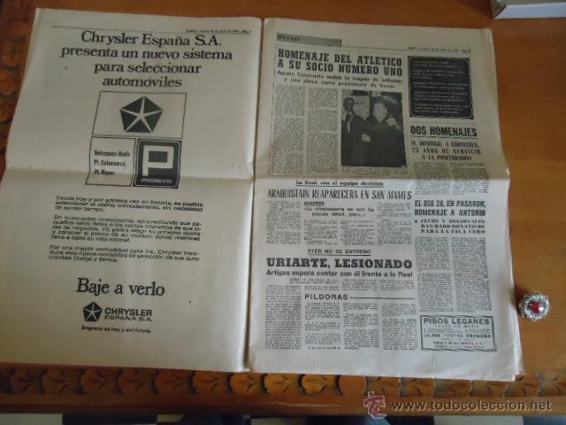 Coleccionismo deportivo: antiguo diario marca - futbol y deportes - boxeo toros tenis - real madrid fc barcelona etc 1958 - Foto 10 - 40222387