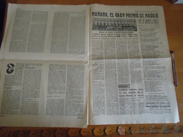 Coleccionismo deportivo: antiguo diario marca - futbol y deportes - boxeo toros tenis - real madrid fc barcelona etc 1958 - Foto 4 - 40222481