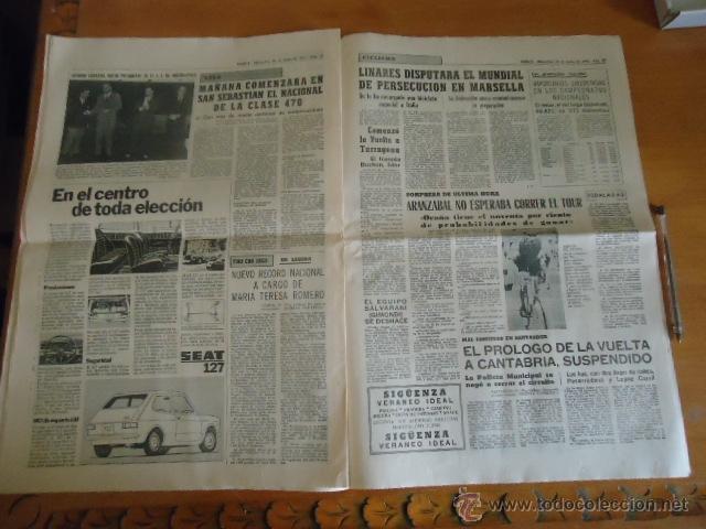 Coleccionismo deportivo: antiguo diario marca - futbol y deportes - boxeo toros tenis - real madrid fc barcelona etc 1958 - Foto 6 - 40222481