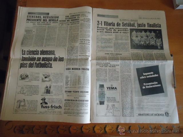 Coleccionismo deportivo: antiguo diario marca - futbol y deportes - boxeo toros tenis - real madrid fc barcelona etc 1958 - Foto 8 - 40222481