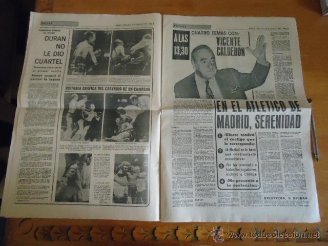 Coleccionismo deportivo: antiguo diario marca - futbol y deportes - boxeo toros tenis - real madrid fc barcelona etc 1958 - Foto 10 - 40222481