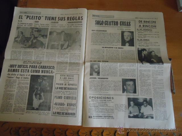 Coleccionismo deportivo: antiguo diario marca - futbol y deportes - boxeo toros tenis - real madrid fc barcelona etc 1958 - Foto 11 - 40222481