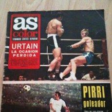Coleccionismo deportivo: REVISTA PERIODICO AS COLOR Nº56 NUMERO 56 - SIN POSTER. Lote 40297484