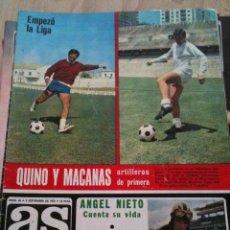 Coleccionismo deportivo: REVISTA PERIODICO AS COLOR Nº68 NUMERO 68 - SIN POSTER. Lote 40297493