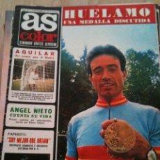 Coleccionismo deportivo: REVISTA PERIODICO AS COLOR Nº69 NUMERO 69 - SIN POSTER. Lote 40297504