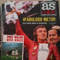 Coleccionismo deportivo: REVISTA PERIODICO AS COLOR Nº71 NUMERO 71 - SIN POSTER. Lote 40297516