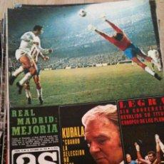 Coleccionismo deportivo: REVISTA PERIODICO AS COLOR Nº73 NUMERO 73 - SIN POSTER - REAL MADRID MIGUEL ANGEL. Lote 40297521
