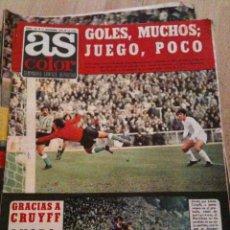 Coleccionismo deportivo: REVISTA PERIODICO AS COLOR Nº134 NUMERO 134 - SIN POSTER. Lote 40310731
