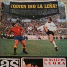 Coleccionismo deportivo: REVISTA PERIODICO AS COLOR Nº132 NUMERO 132 - SIN POSTER. Lote 40310735